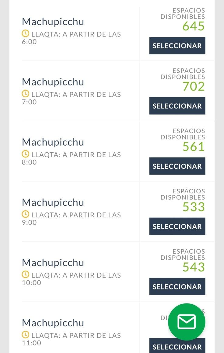 Comprar ingresso do Machu Picchu online