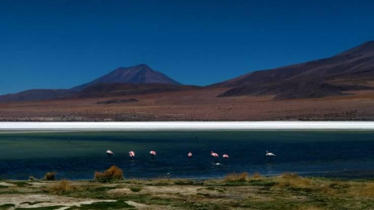 Laguna na Bolívia