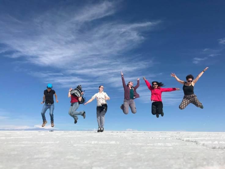 Salar de Uyuni grupo
