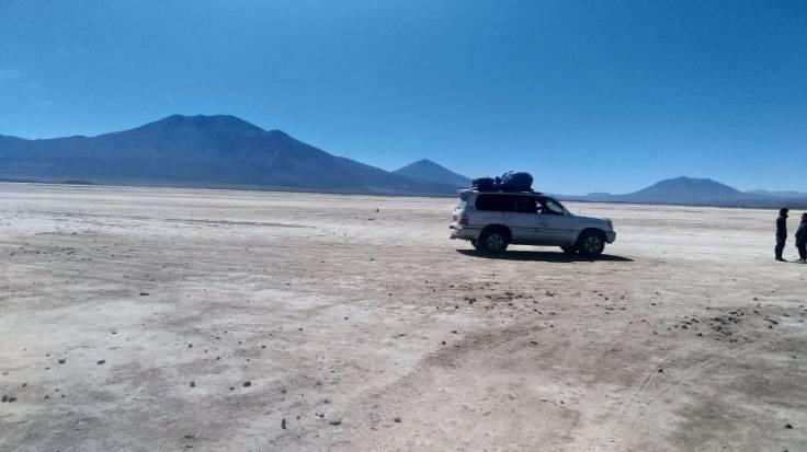 Salar de Uyuni travessia de carro